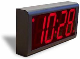 Parede Relógio Digital