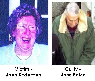 Fotografias da vítima e dos acusados