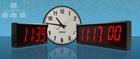 Relógio Rede de Display