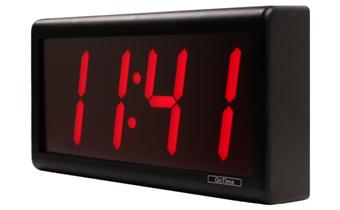 O que está incluído com o dígito 4 PoE Relógio