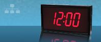 relógio sincronizado