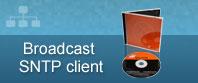 transmissão SNTP software cliente cd + caso