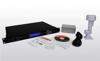 O que está incluído com o servidor NTP dupla NTS 6001