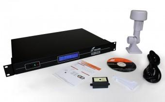 O que está incluído com o servidor NTS 6001 GPS NTP
