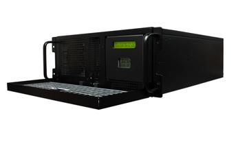 O que está incluído com o servidor NTP dupla NTS 8000